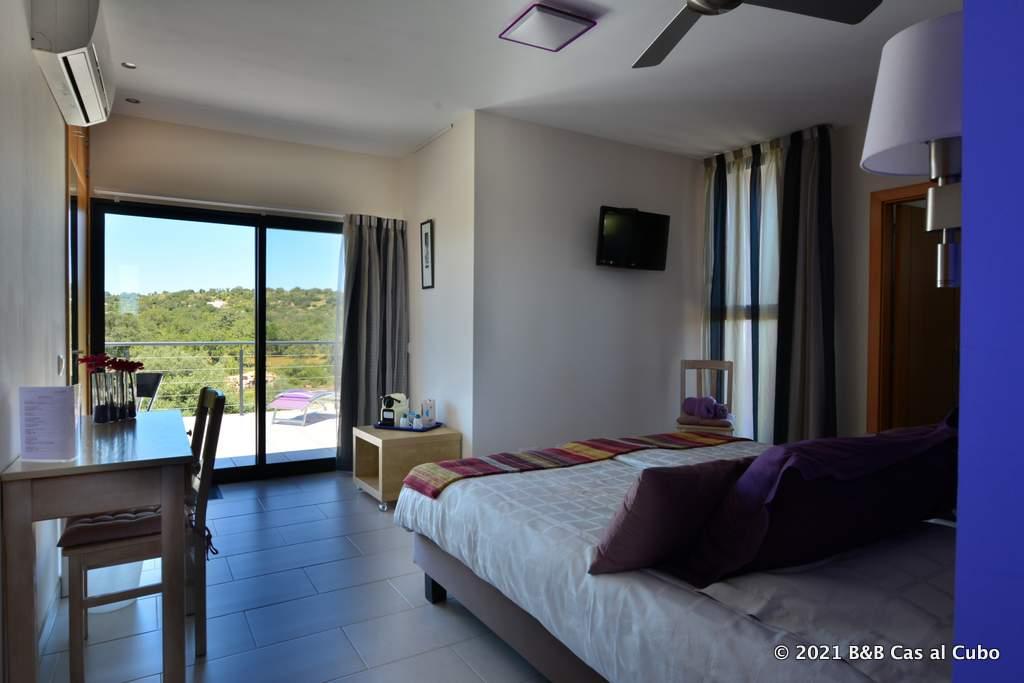 Suite Lavanda in Bed en Breakfast Algarve Cas al Cubo