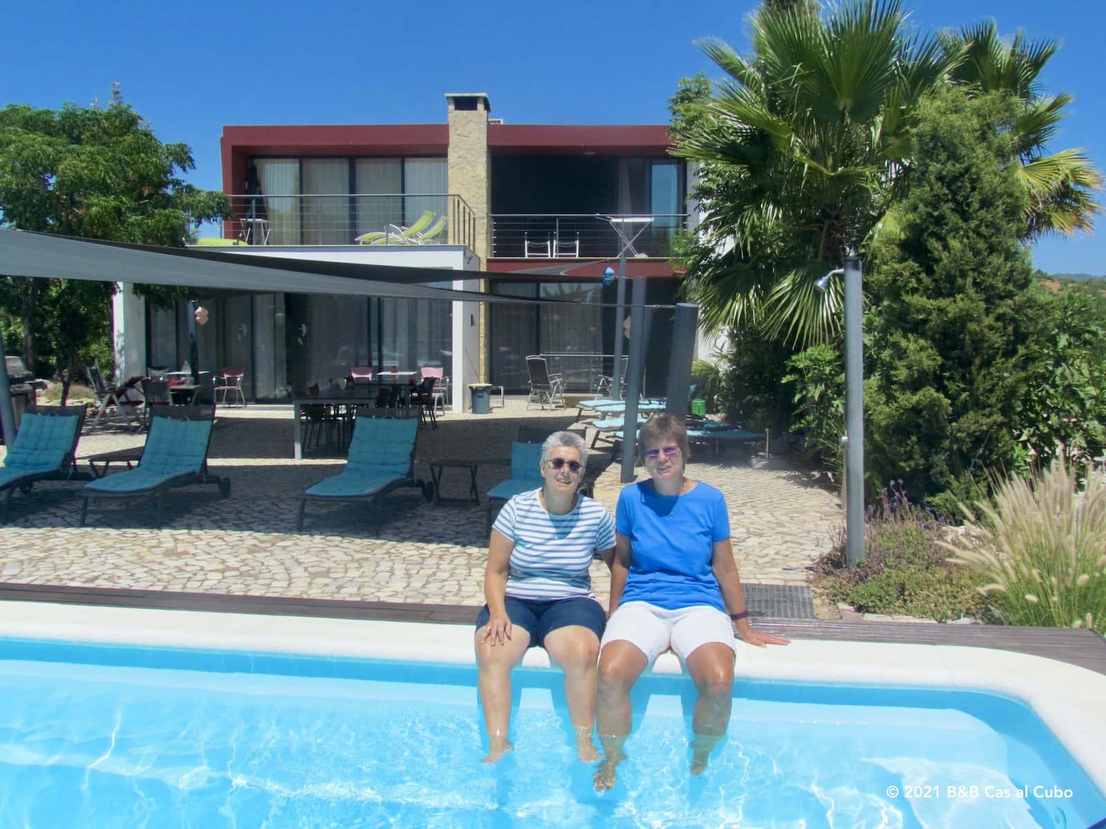 Kamer reserveren bij luxe en gezellig bed en breakfast Algarve X´Cas al Cubo