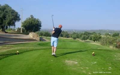 Golfbanen in de Algarve