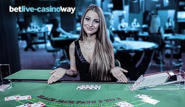Betway blackjack dealer