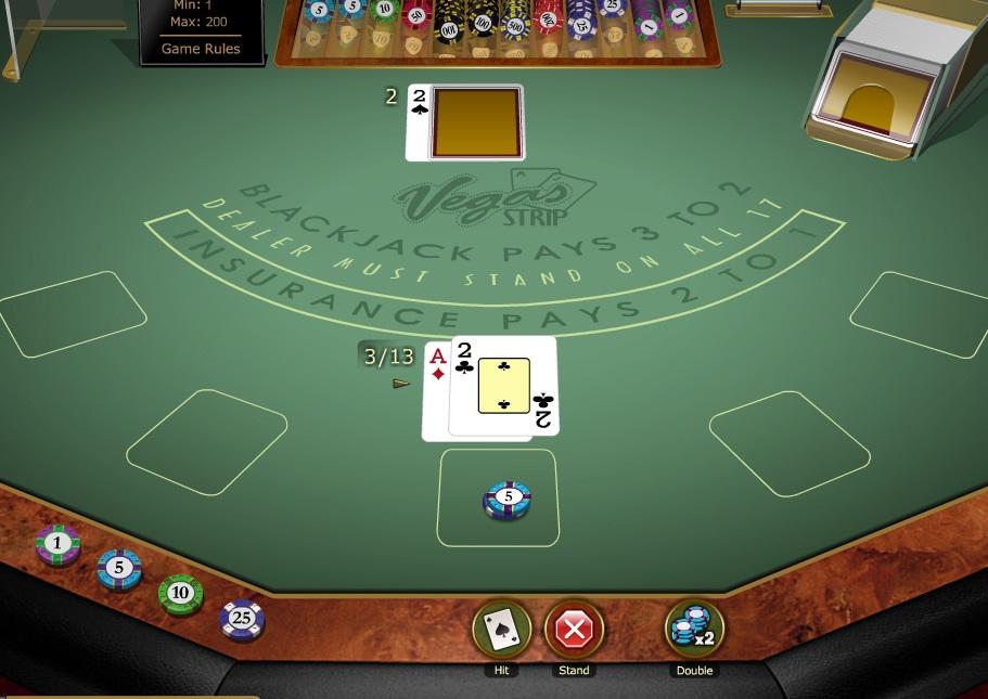 Jackpot City Casino Blackjack