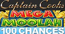 Captain Cooks 100 tours au casino