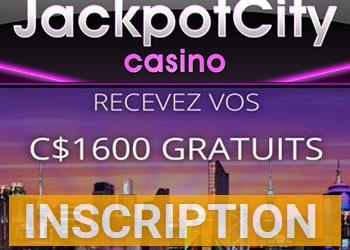 Jackpot City et bonus de bienvenue