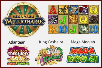 Machines à sous et grands jackpots à gagner