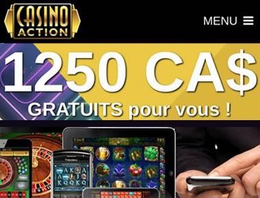 Casino Action est une site rentable qui paye des jackpots