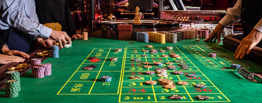 Jeu en direct au casino