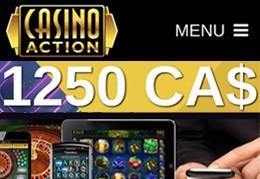 Casino Action et machines à sous mobile