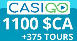 Bonus du site CasiGO