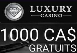 Luxury Casino roulette et blackjack