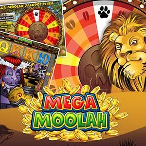 Roue bonus du Mega Moolah