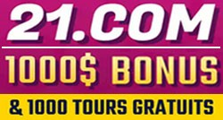 Casino en ligne 21.com