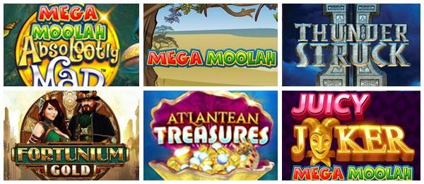 Nouveaux jeux des casinos en ligne