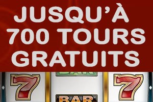 700 tours au casino