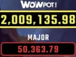 Wheel of Wishes et le segment du jackpot WOW