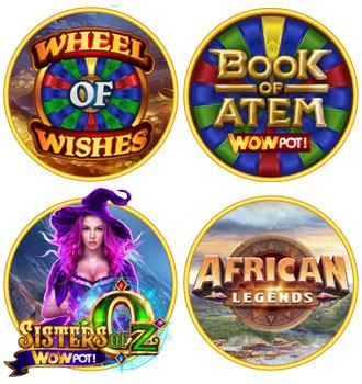 Les jeux de la série WowPot