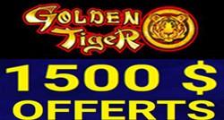 Golden Tiger bonus fidélité