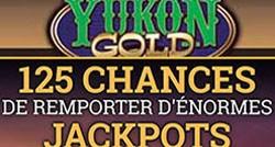 125 tours Mega Moolah chez Yukon Gold