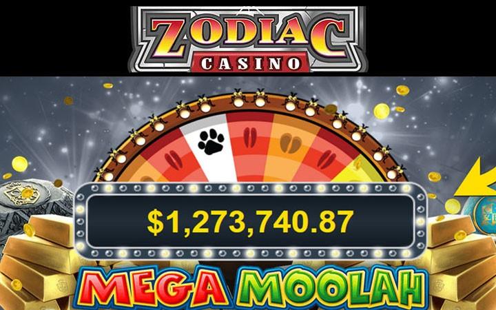 Zodiac Casino et jackpot à gagner chaque jour