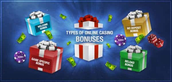 types of casinos bonuses