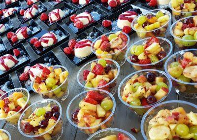 fruitsla panna cotta