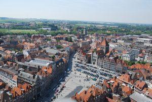 Centre-ville de Tournai - Cathédrale