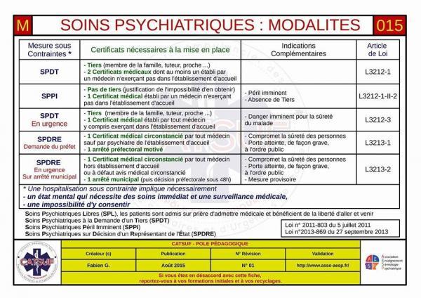Soins psychiatriques