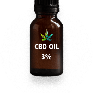 CBD Oil 3 percent three percent %