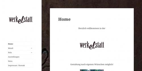 Homepage Werkelstatt