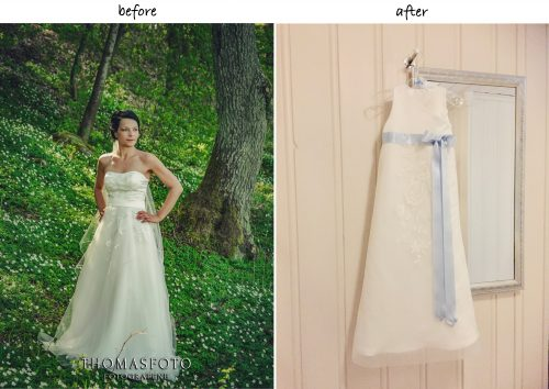 Taufkleid aus Brautkleid