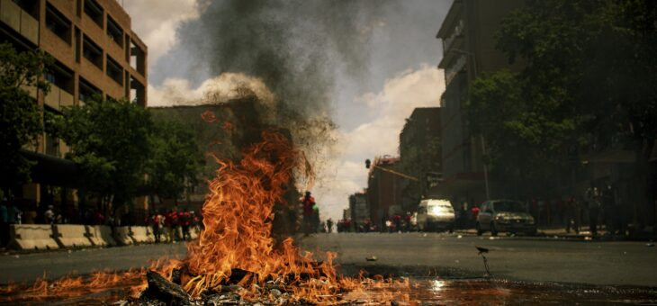South Africa : riots, looting and violence : the need to strengthen and support social cohesion
