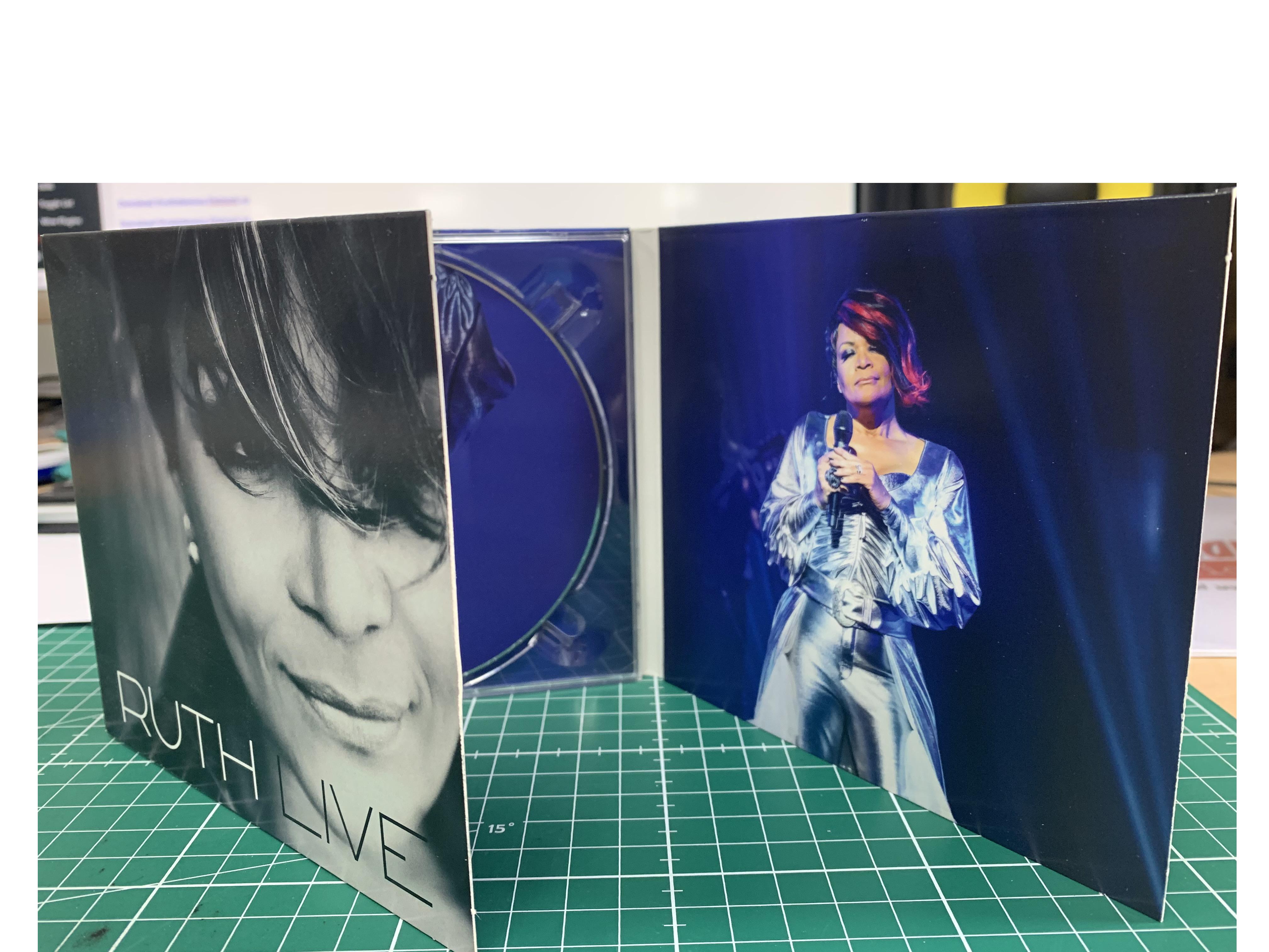 CD in DIGIPACK RUTH