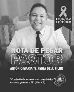 Nota de Pesar_Pr Antonio Maria Teixeira de Amorim Filho