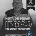 Nota de Pesar_Ir Francisco Pinto Pires