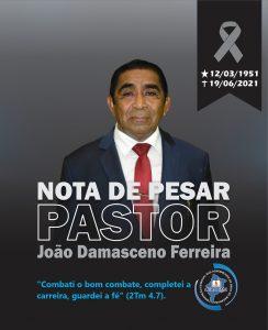 Nota de Pesar_Pr João Damasceno Ferreira