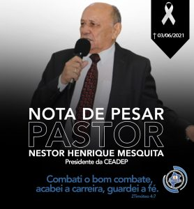 Nota de Pesar_Pr Nestor Henrique Mesquita