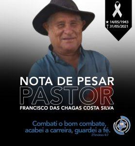 Nota de Pesar_Pr Francisco das Chagas Costa Silva