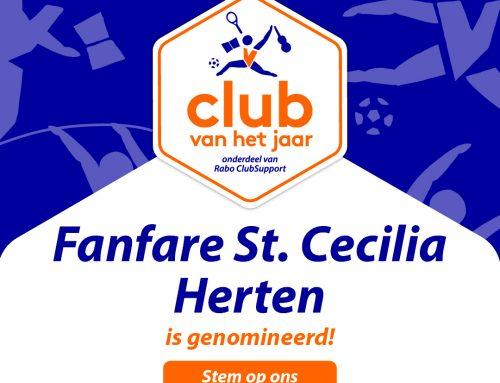 Wij doen mee aan de verkiezingen voor de Club van het Jaar!