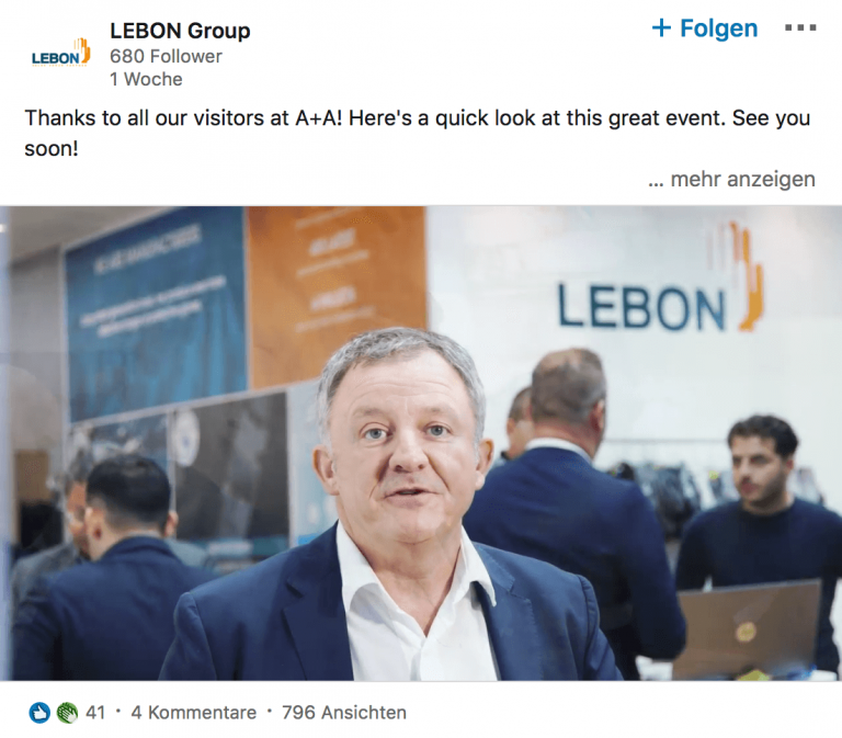 Lebon Protection at A+A 2019 by Cedric Paquet