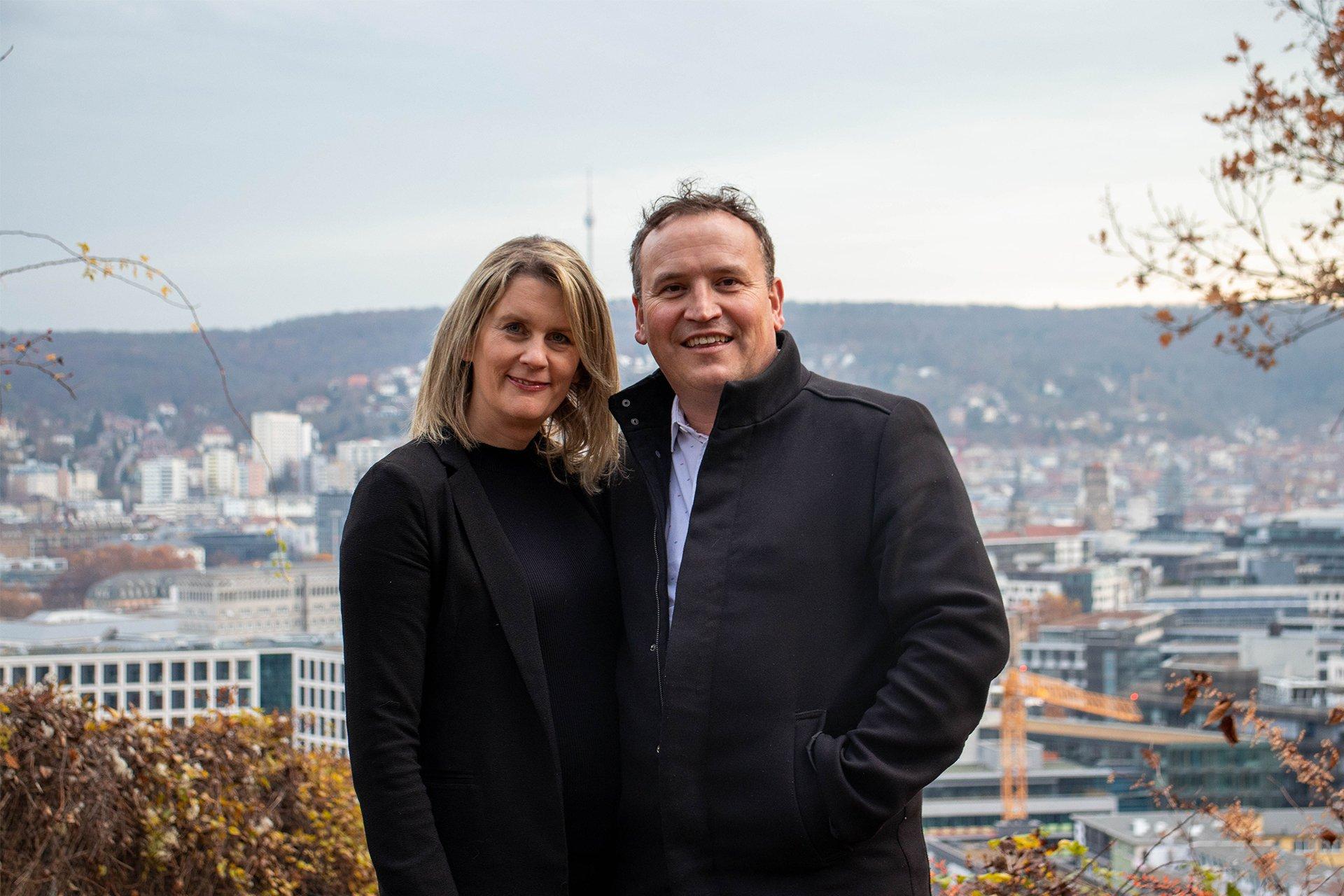 Dan Schmid and Karin Schmid