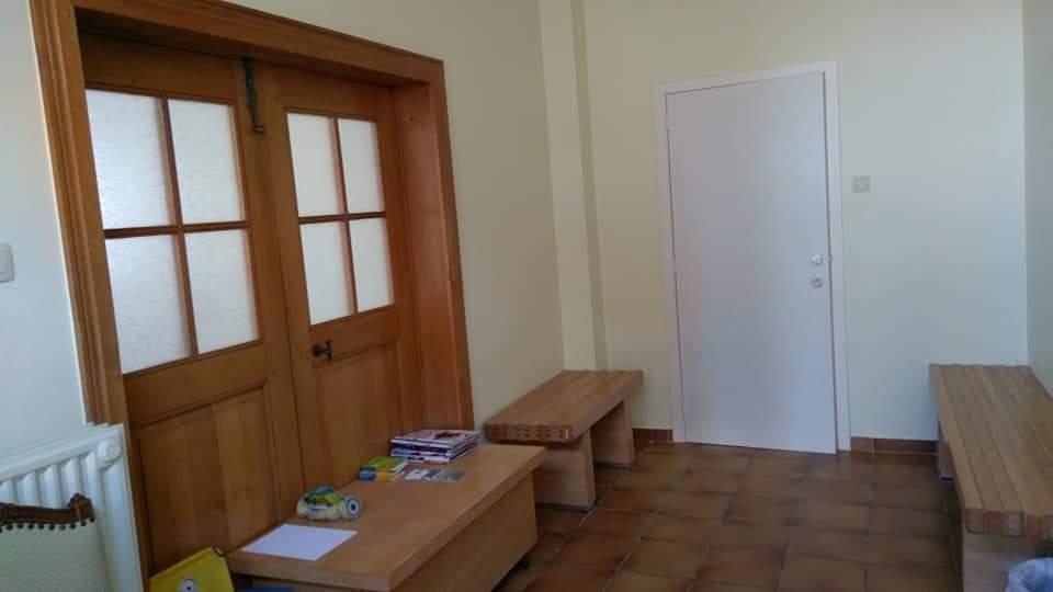 Salle d'attente du Centre thérapeutique Les Oranges