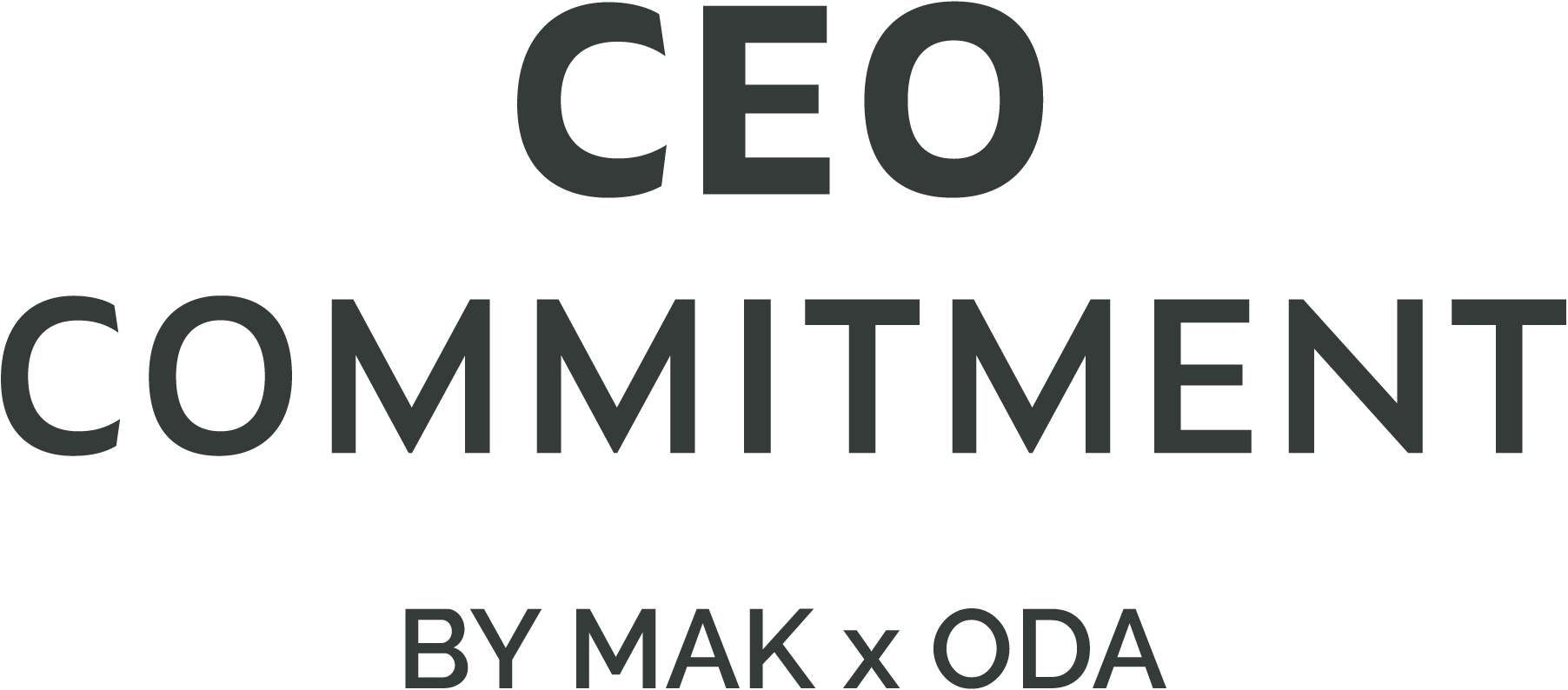 CEO Commitment by MAK x ODA