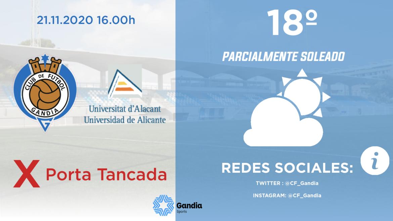 PREVIA CF GANDIA – UA ALICANTE