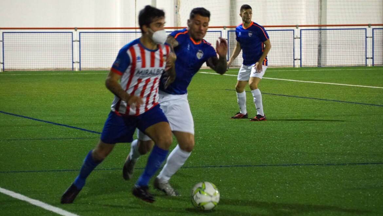 Un penalti condena el buen juego del CF Gandia en el Estadio Municipal de Jávea