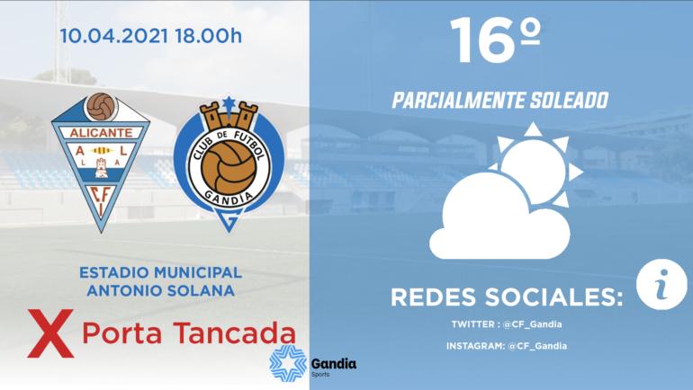 PREVIA CFI Alicante – CF GANDIA
