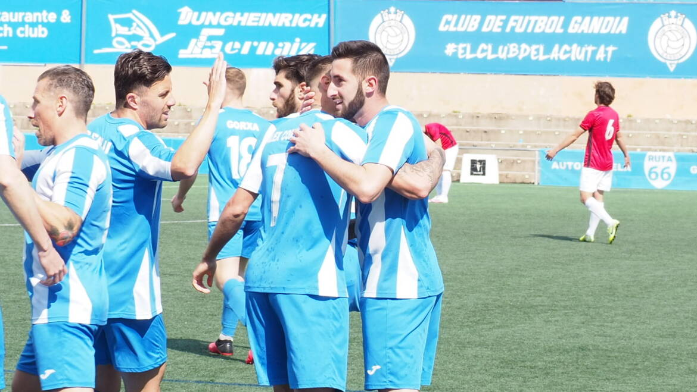 IMPORTANTE VICTORIA PARA SEGUIR LUCHANDO POR EL OBJETIVO (CF GANDIA 2 – CF LA NUCIA 'B' 1)