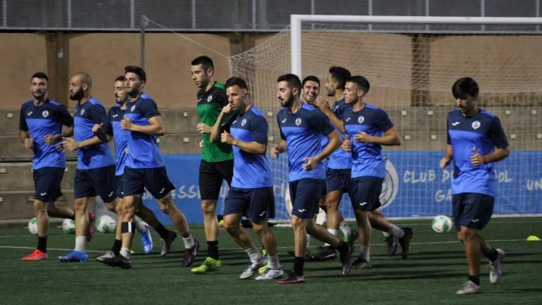 El CF Gandia quiere seguir sumando ante el Pedreguer en el GUILLERMO OLAGÜE