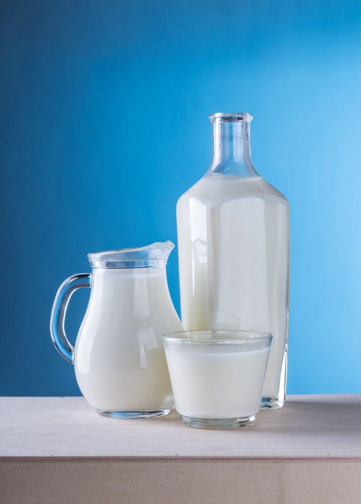 Jeden Tag einen halben Liter Milch!
