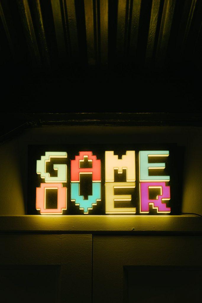Game over fucker!
