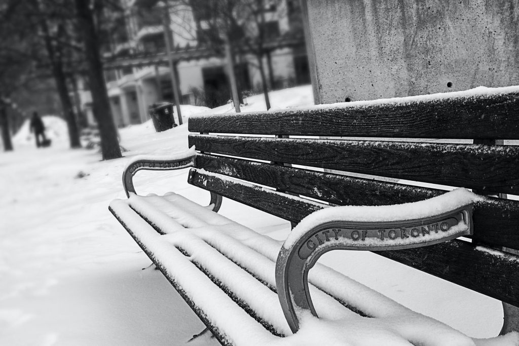 Kalter Stahl, kalter Winter