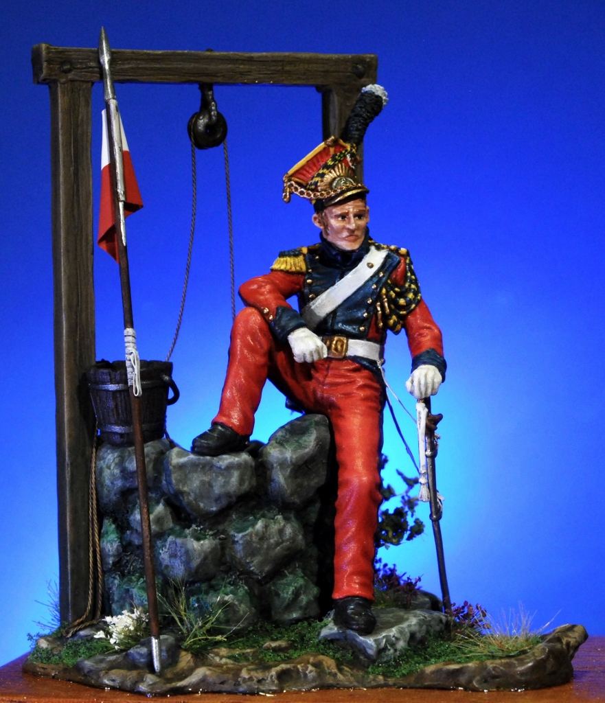 2-nd.-Chevau-légers-Lancers-Velite-1811-1813-Andrea-Miniatures-54mm